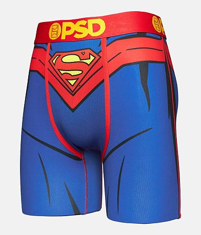 PSD DC Real Superman Stretch Boxer Briefs