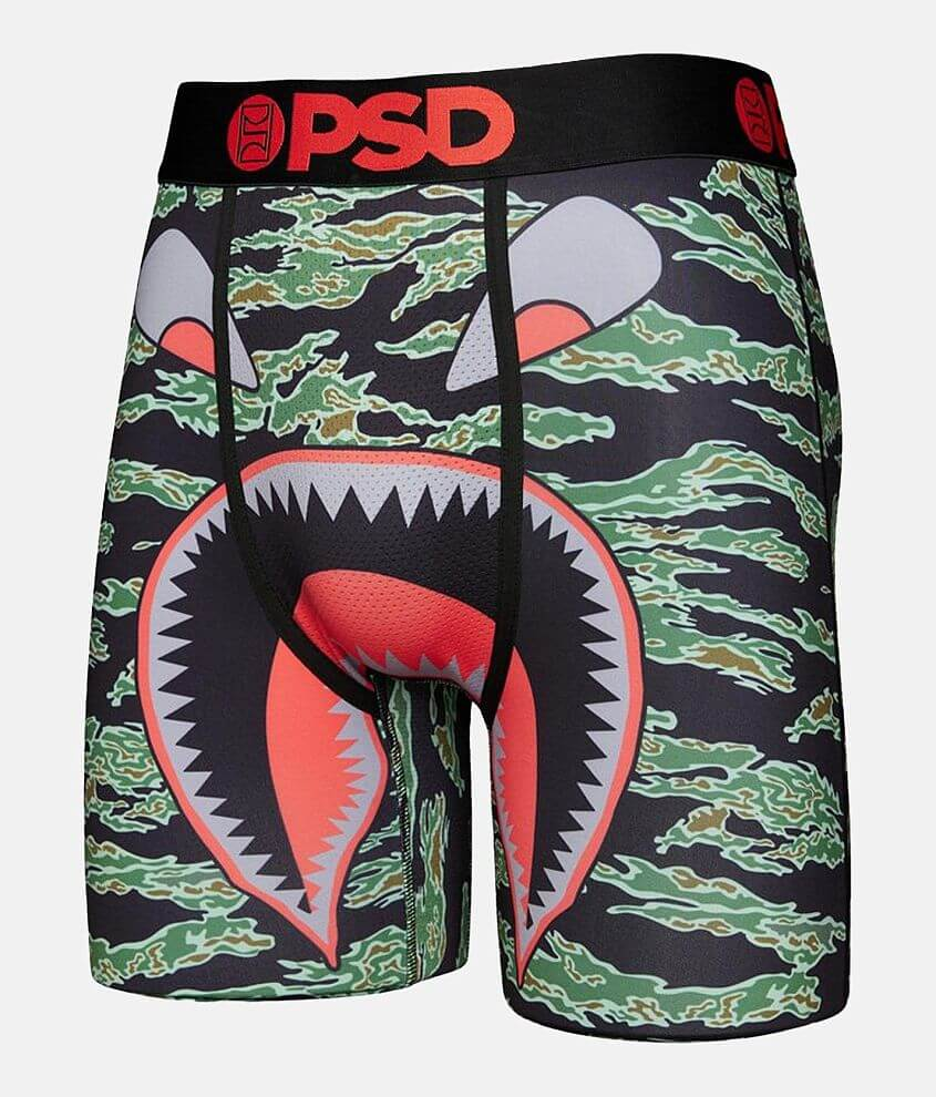 PSD Warface Tiger Stretch Boxer Briefs front view