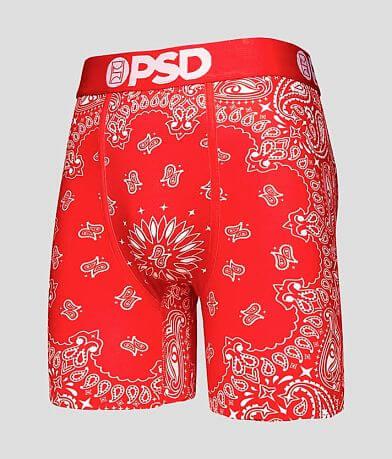 PSD Red Bandana Stretch Boxer Briefs