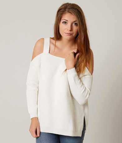 BKE Cold Shoulder Sweater