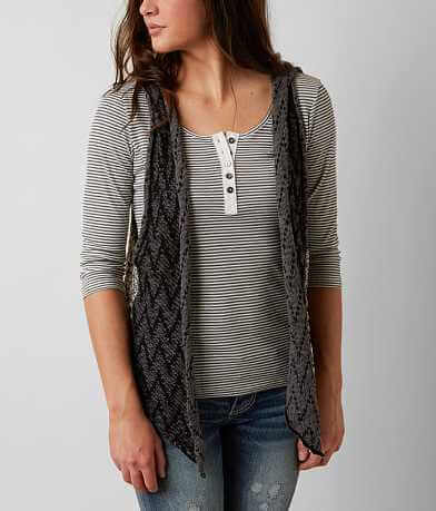 BKE Open Weave Sweater Vest