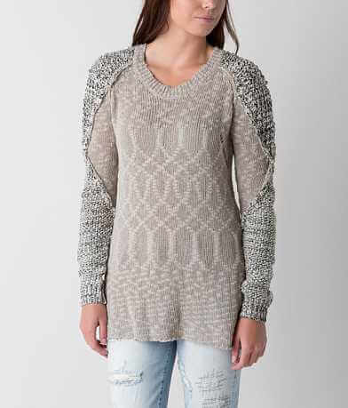 BKE Open Weave Sweater