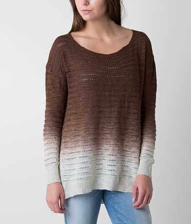 red by BKE Dip Dye Sweater