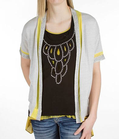 BKE Boutique Flyaway Cardigan Sweater