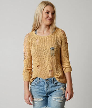 Gilded Intent Marled Sweater