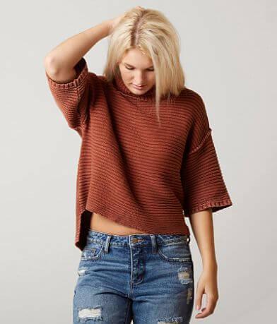 Gilded Intent Turtleneck Sweater
