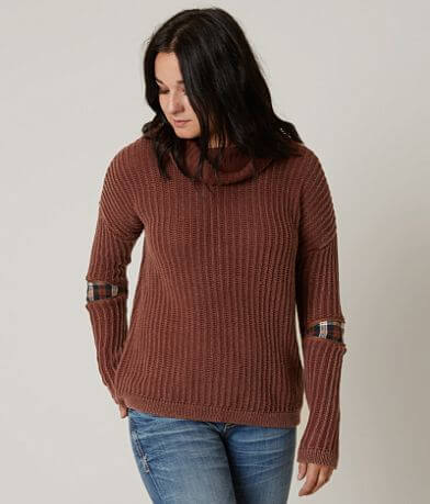 Gilded Intent Ribbed Sweater