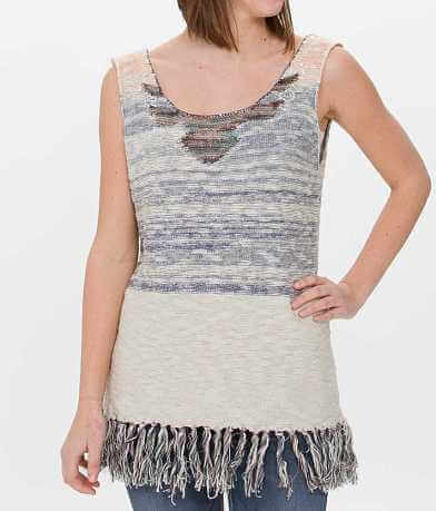 Gimmicks Embellished Sweater Tank Top