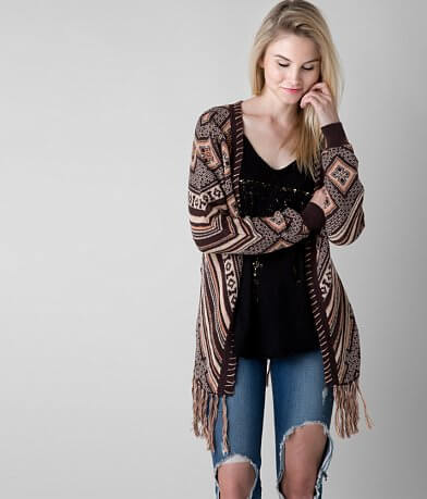 Gimmicks Southwestern Cardigan Sweater