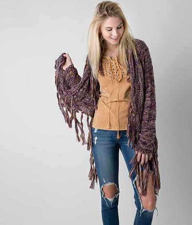 Gimmicks Marled Cardigan Sweater