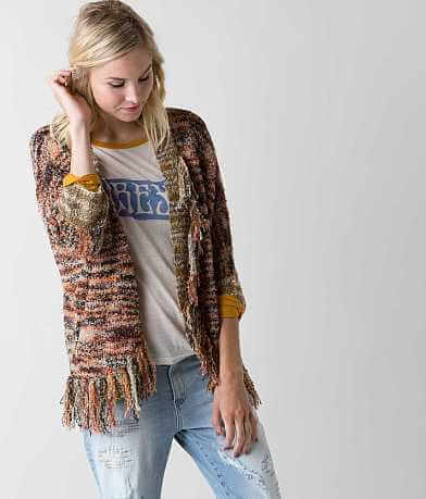 Gimmicks Marled Cardigan Sweater