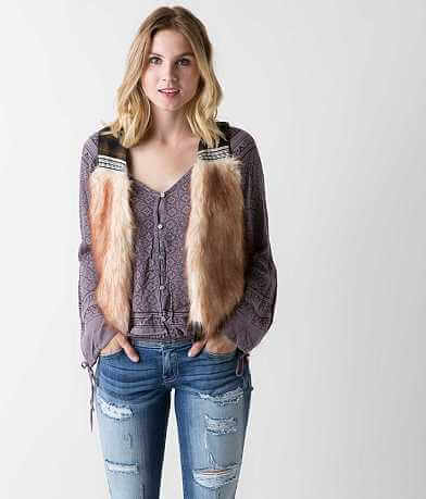 Gimmicks Faux Fur Vest
