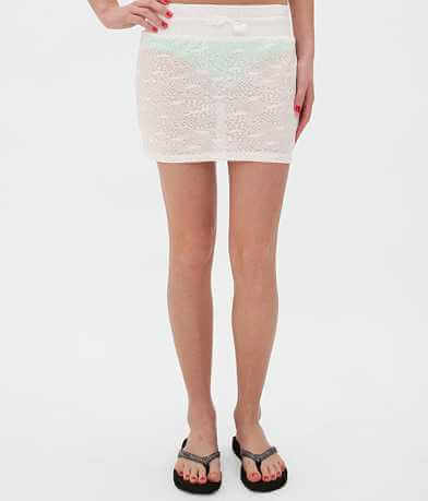 BKE resort Mesh Swim Cover-Up Skirt