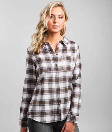 BKE Brushed Flannel Shirt