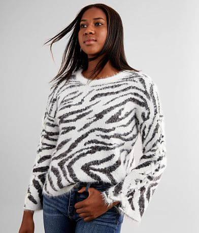 Daytrip Eyelash Knit Sweater