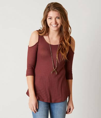 Polly & Esther Waffle Top