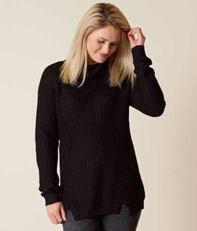 Polly & Esther Lace-Up Sweater