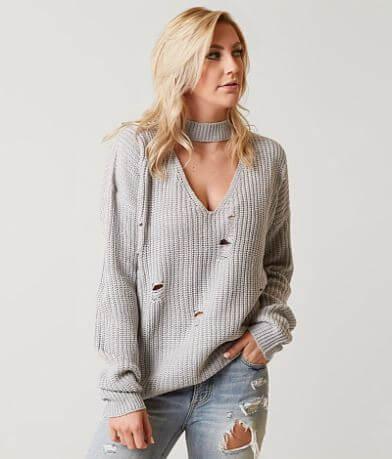 Daytrip Destructed Sweater
