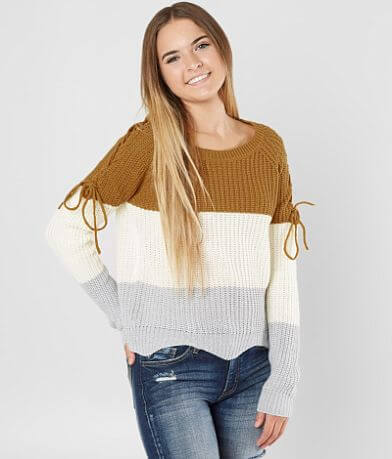 Daytrip Color Block Sweater