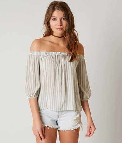 Polly & Esther Striped Top