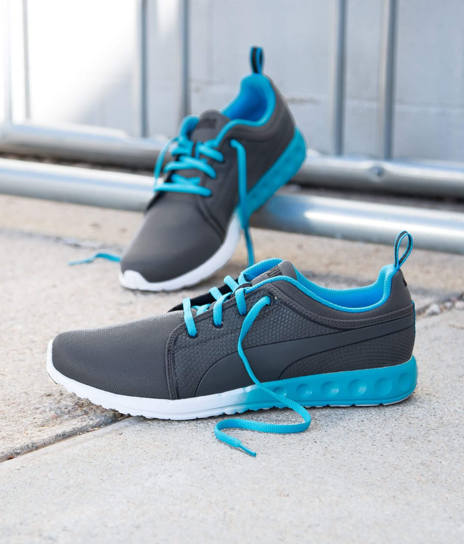 bc8850102e34c Puma Carson Runner Shoe - Men's Shoes in Periscope Atomic Blue   Buckle