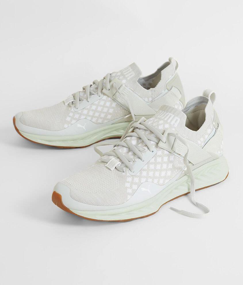 Puma Ignite evoKNIT Shoe - Men s Shoes in Glacier Gray Puma White W ... fd7203e94