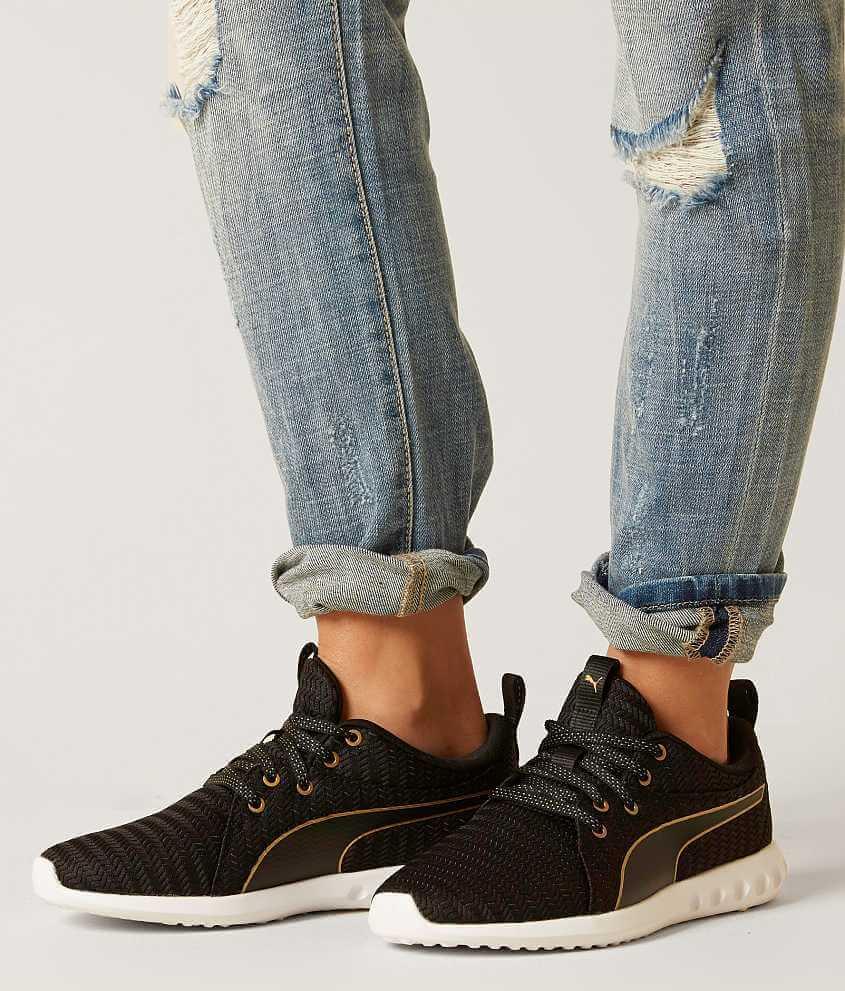 Puma carson 2 shoe womens shoes in puma black gold buckle nvjuhfo Choice Image