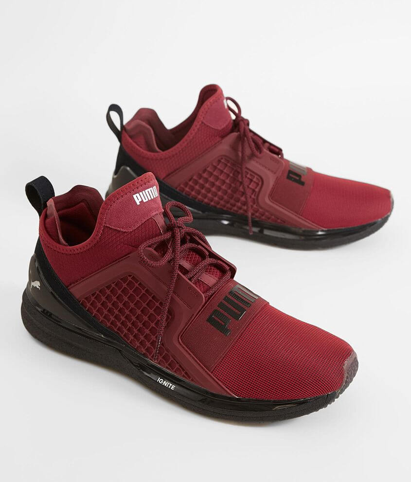 92eea855bab Puma Ignite Limitless Shoe - Men s Shoes in Tibetan Red Puma Black ...
