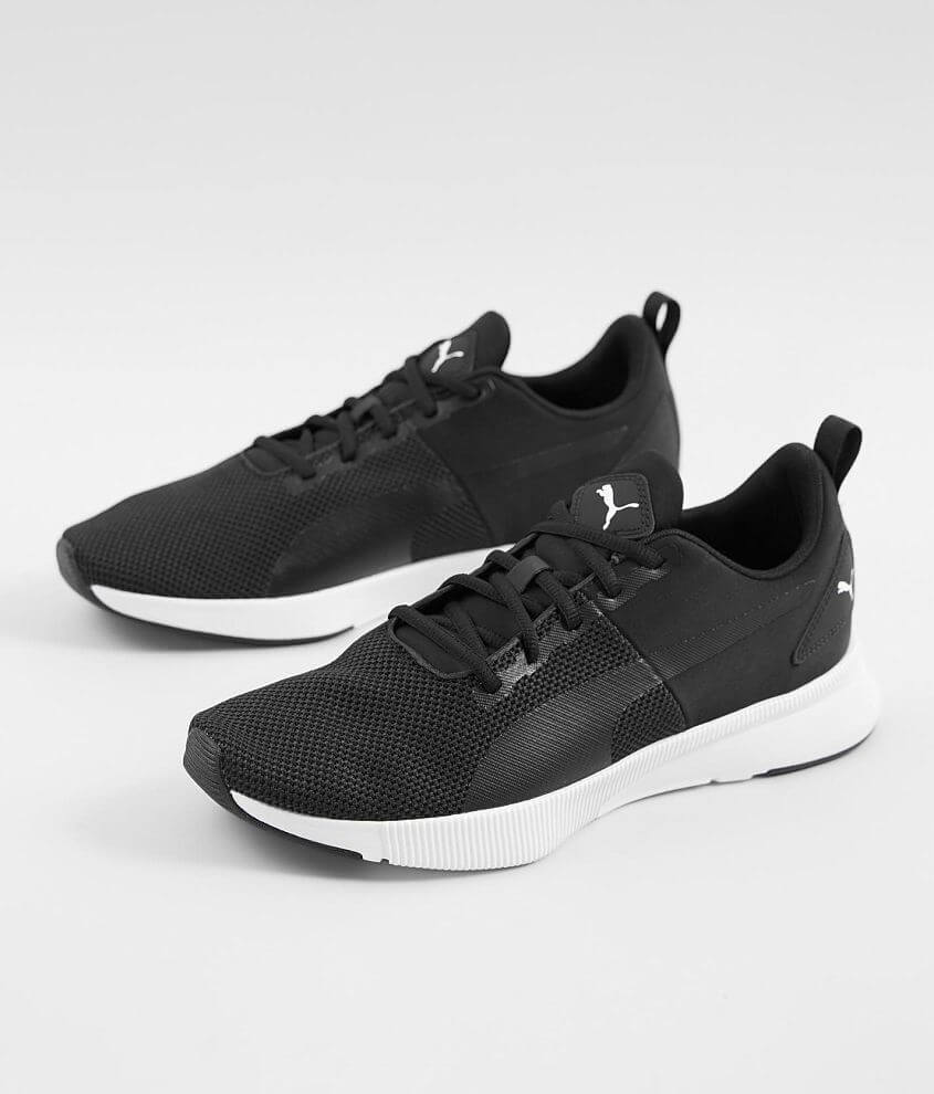 Puma Flyer Runner Shoe - Men's Shoes in Black Black White ...