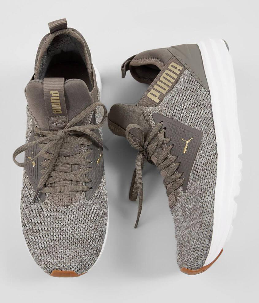 Puma Enzo Beta Shoe - Men s Shoes in Charcoal Grey Gold  3718f71bc
