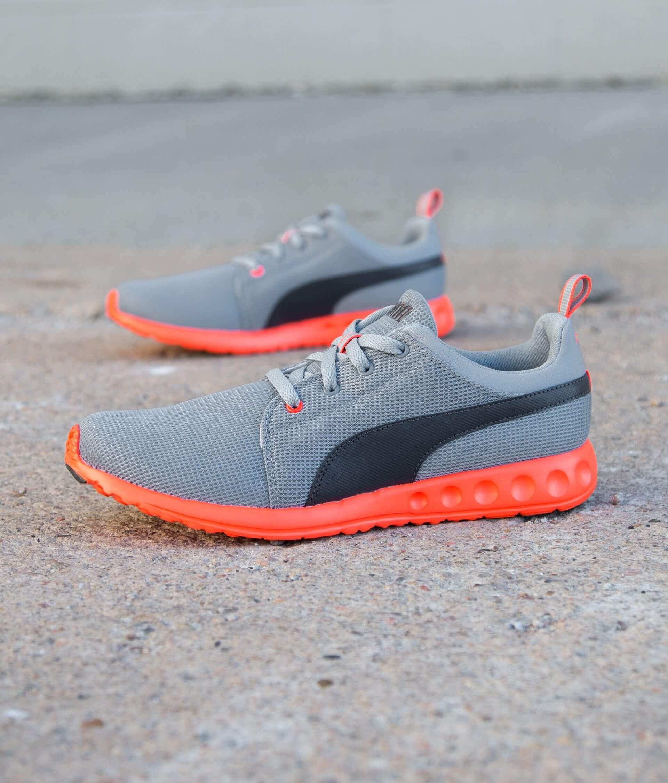 92929c87088a9 Puma Carson Runner Shoe - Men's Shoes in Quarry Asphalt   Buckle