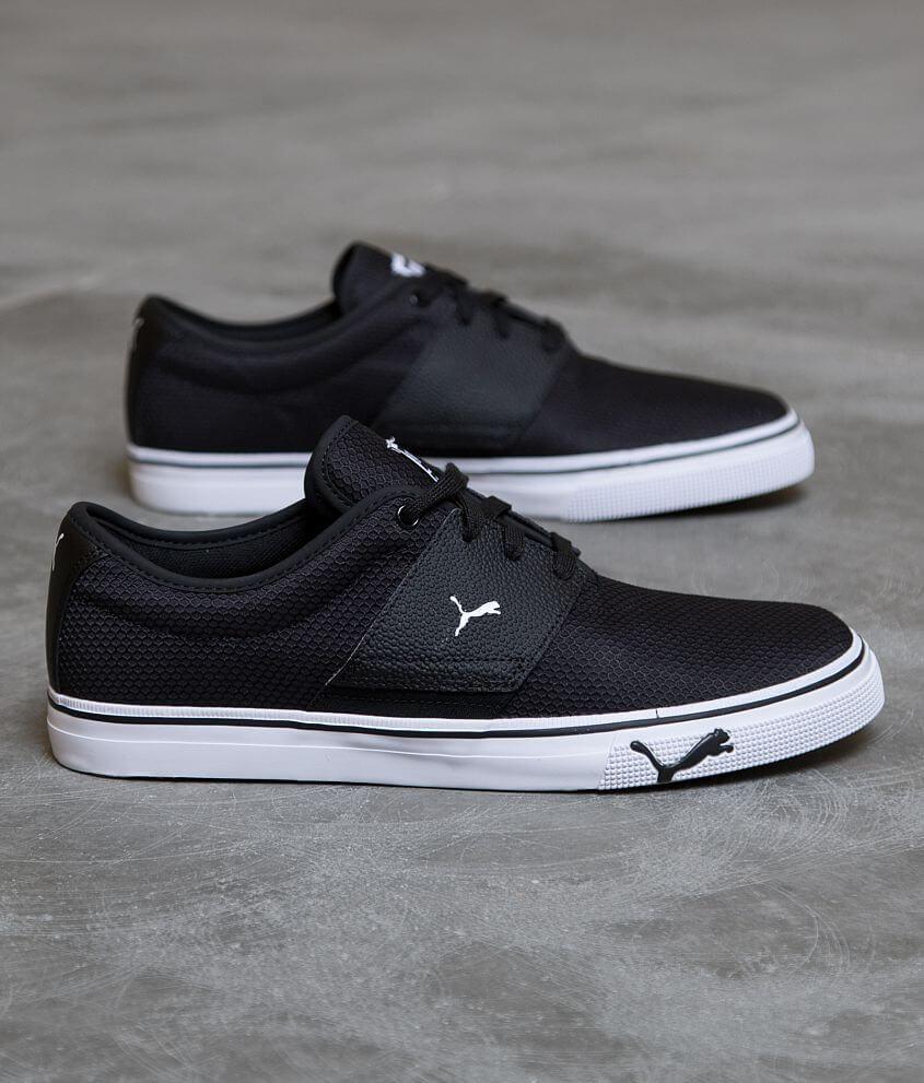 Puma El Ace Shoe - Men s Shoes in Black White  a82f2bee4