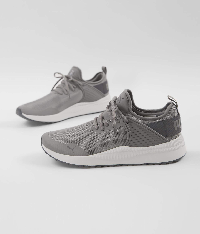 Puma Men's Pacer Next Cage Sneaker (Charcoal Grey Ashphalt)