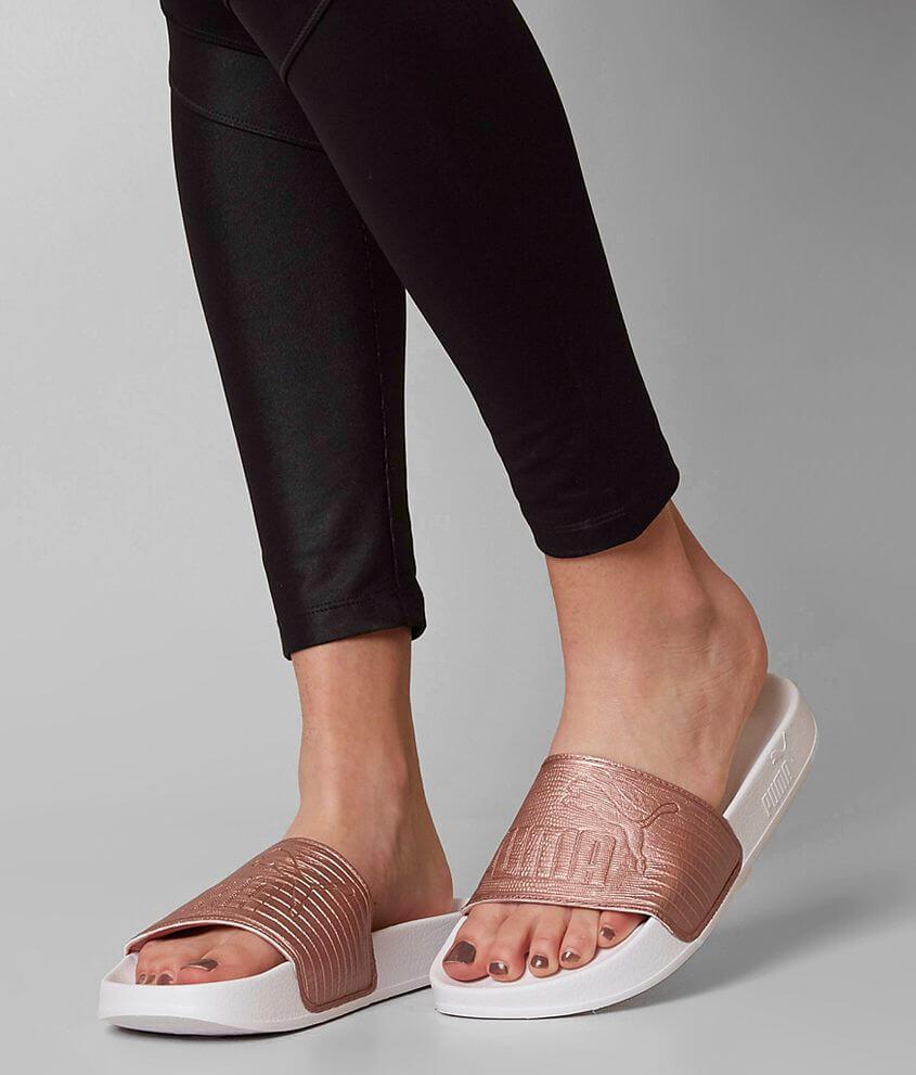 2292e26ae52b Puma Leadcat Sandal - Women s Shoes in Copper Rose Puma White
