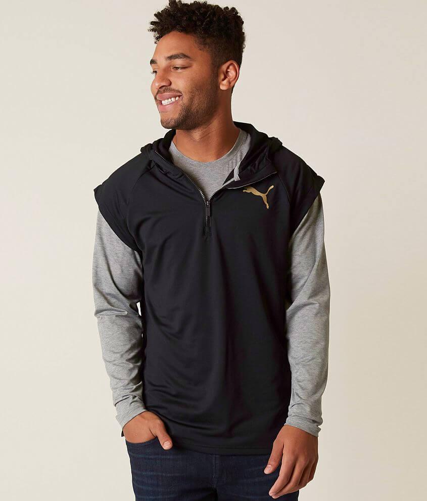 d17d831e1af Puma Tech Hoodie - Men s Sweatshirts in Puma Black   Buckle