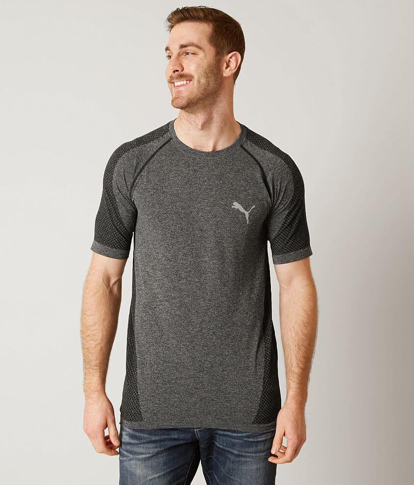6652f6a6d3d Puma evoKNIT Better T-shirt - Men's T-Shirts in Puma Black Heather ...