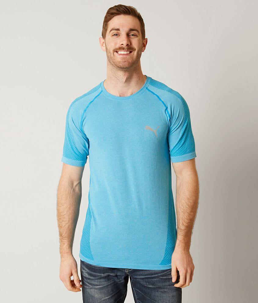 389a73b8af Puma evoKNIT Better T-shirt - Men's T-Shirts in Blue Danube Heather ...