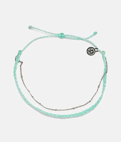 Pura Vida Satellite Chain Ankle Bracelet