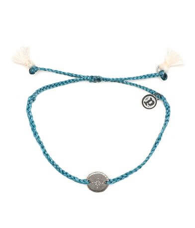 Pura Vida Compass Charm Bracelet