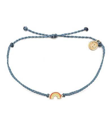 Pura Vida Rainbow Bitty Charm Bracelet