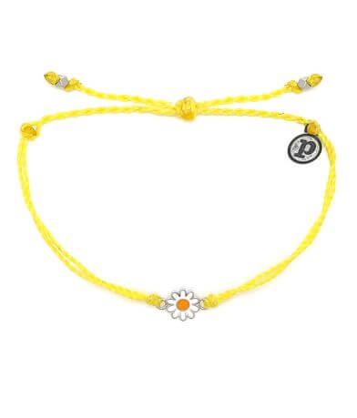Pura Vida Daisy Bitty Charm Bracelet