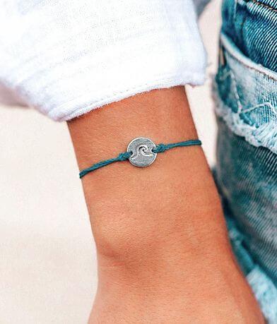Pura Vida Wave Charm Bracelet