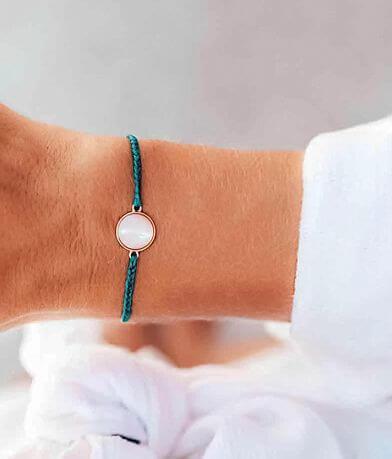 Pura Vida Mother Of Pearl Charm Bracelet