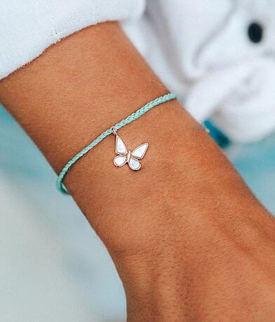 Pura Vida Save The Butterflies Charm Bracelet