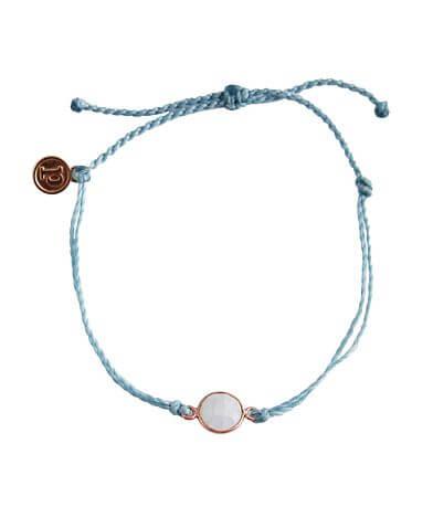 Pura Vida Moonstone Charm Bracelet