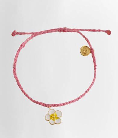 Pura Vida Flower Charm Bracelet