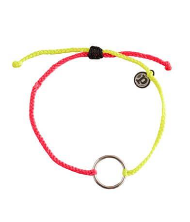 Pura Vida Neon Charm Bracelet
