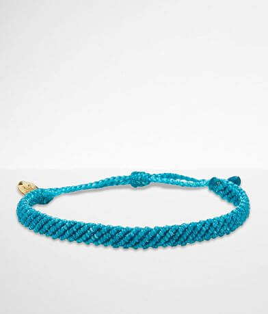 Pura Vida Half Flat Woven Bracelet
