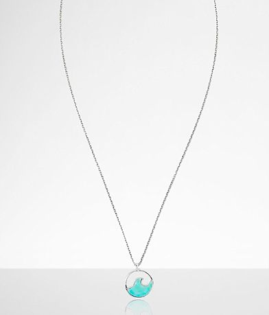 Pura Vida Stone Wave Necklace