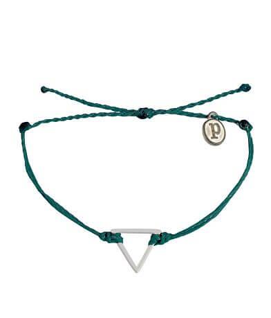 Pura Vida Triangle Bracelet